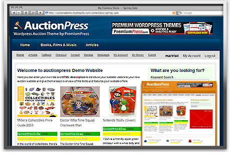 AuctionPress WordPress Theme v7.1