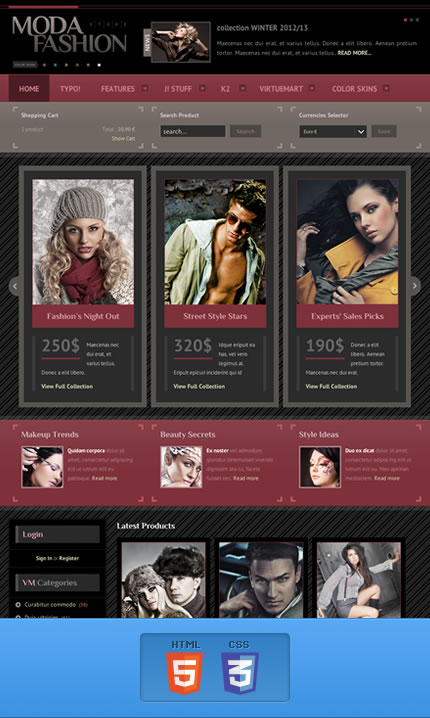 BT Moda template for Joomla 2.5