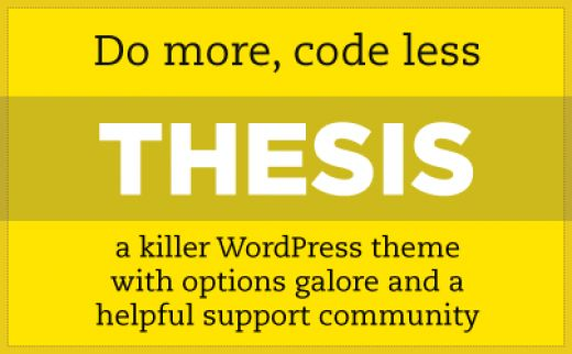 Thesis WordPress Framework v2.0