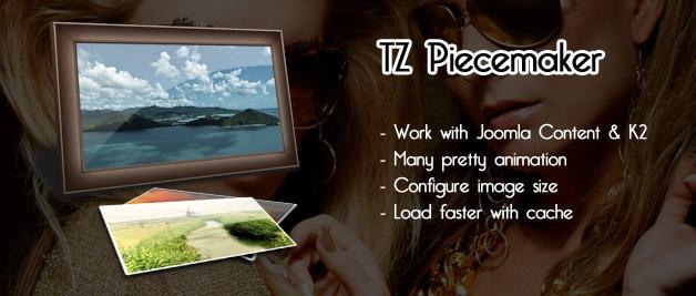 TZ Piecemaker For Joomla 2.5