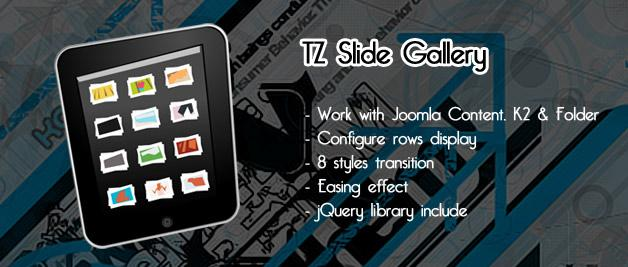 TZ Slide Gallery v1.1 For Joomla 2.5 & 1.5