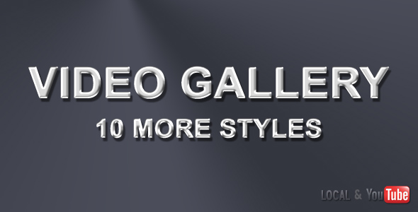 Video Gallery with Image Slideshow – 10 more style