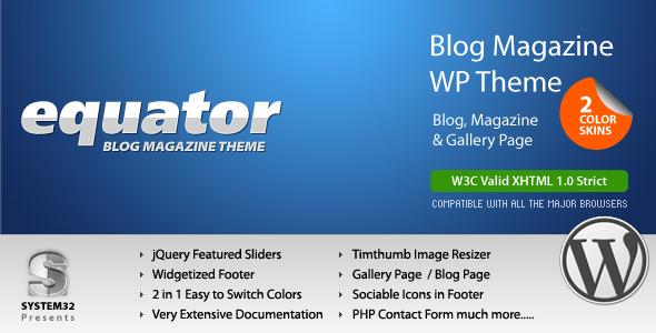 eQuator – Global Community WordPress Theme V2.8