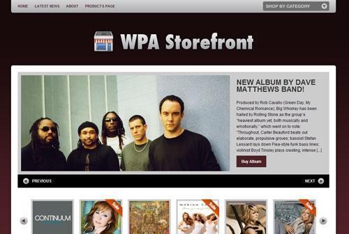 Storefront v1.2.2 – WordPress Theme