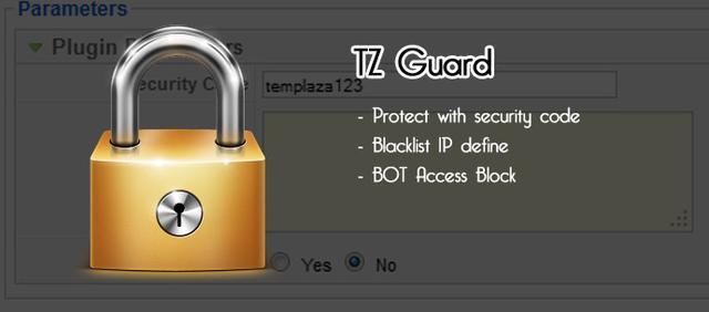 TZ Guard v1.1 for Joomla 1.5 & 2.5