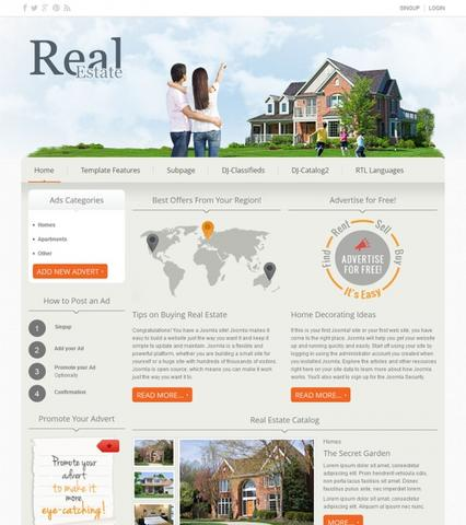 JM-DJ-Real-Estate02 Template v2.5.0 for Joomla 2.5