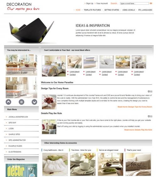 JM-Home-Deco Template v1.6.0 for Joomla 2.5