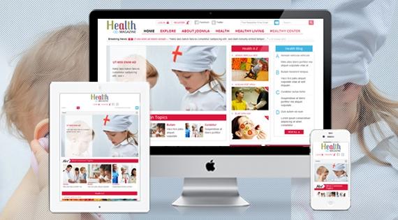 SJ Health – Responsive Joomla! 3.0 Template