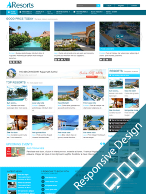 SJ Resorts – Responsive Joomla! 2.5 Template