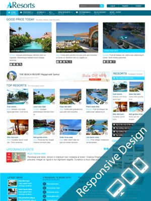 SJ Resorts – Responsive Joomla! 2.5 Template