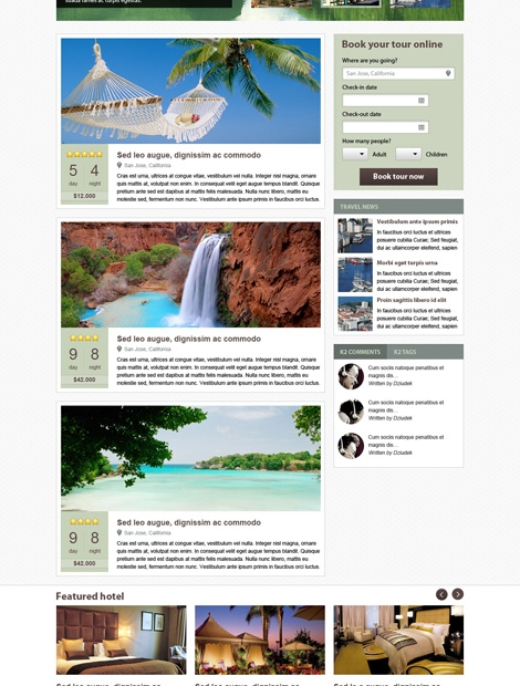LeoTheme – Leo Travel Template For Joomla 2.5