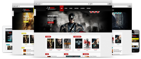 ZooTemplate – ZT Movie – Responsive joomla 2.5 template