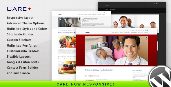 Care – Medical and Health Blogging WordPress Theme V3.0