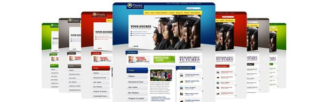 Finnix – An Education Template For Joomla 2.5