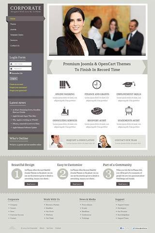 IT Corporate 2 template for Joomla 2.5 & 3.0