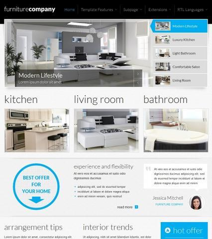 JM-Exclusive-Furniture Template for Joomla 2.5