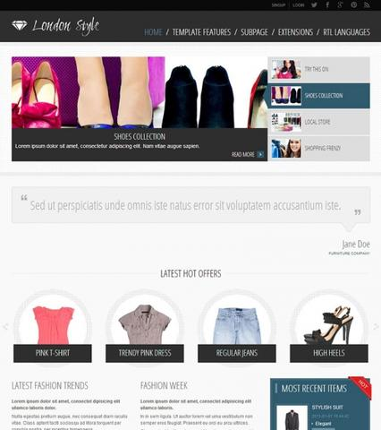 JM-Fashion-Trends Template for Joomla 2.5