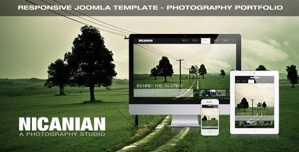 Nicanian v1.6 – TemPlaza Template for Joomla 2.5