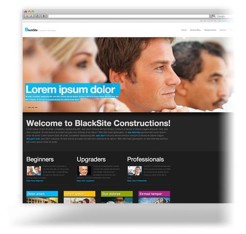 PixelsParadise – BlackSite Premium Template For Joomla