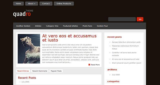 Quadro WordPress Theme V4.4