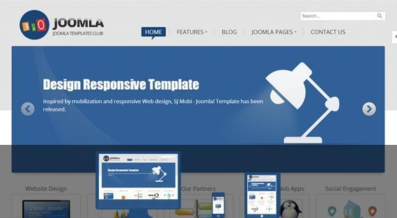 SJ Joomla3 – Free framework Template for Joomla! 3.0