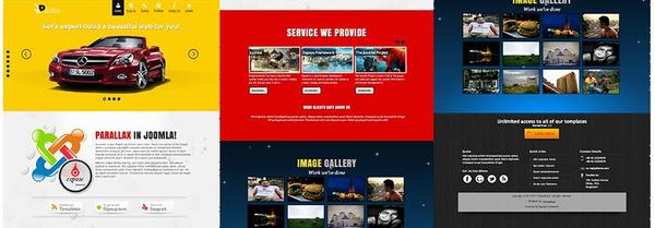 ThemExpert – Parallax Responsive Business Template for Joomla 2.5