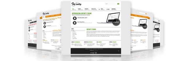 TX Infinity – Explore The Creativity Template for Joomla 2.5