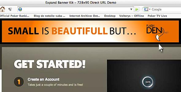 ActiveDen – Expand Banner Kit – Horizontal Formats