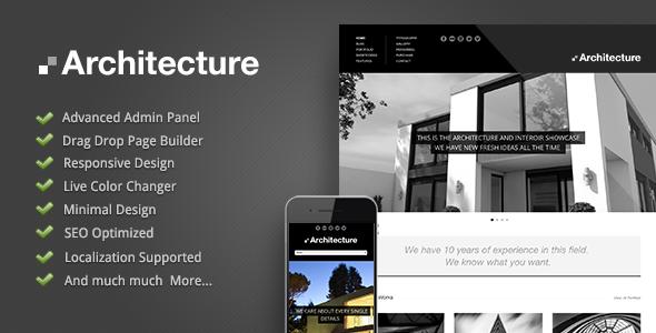 Architecture v.1.0.2 – Premium WordPress Theme