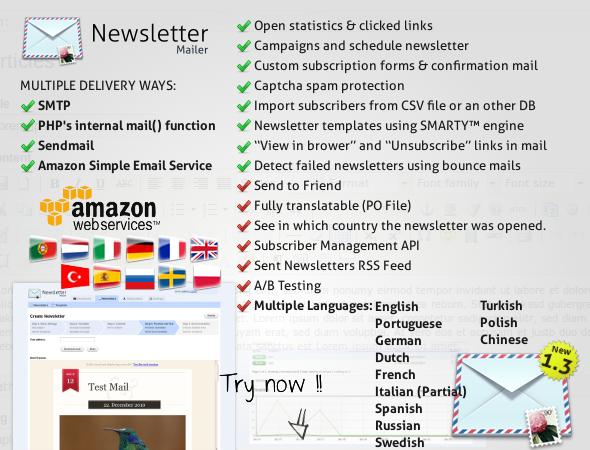 CodeCanyon – Newsletter Mailer v1.3