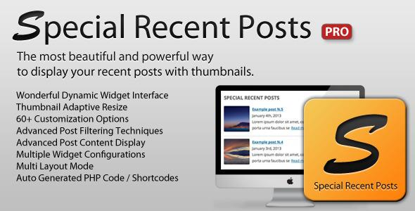 CodeCanyon – Special Recent Posts PRO v2.5.2 for WordPress