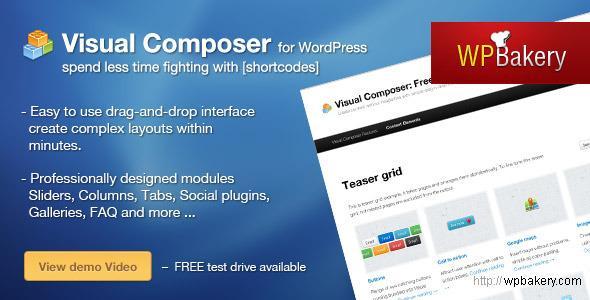 CodeCanyon – Visual Composer v3.5.4 for WordPress