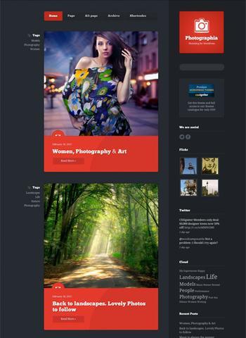 CSSIgniters – Photographia Premium WordPress Theme v1.1