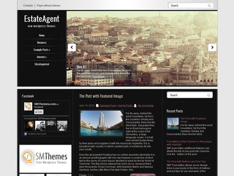 EstateAgent Free WordPress Theme