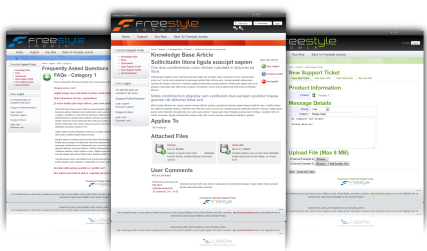 Freestyle Support Portal v1.9.2.1547 for Joomla 2.5