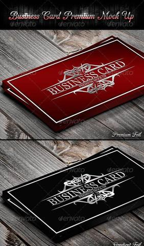 GraphicRiver – Business Card Premium Mock-Up