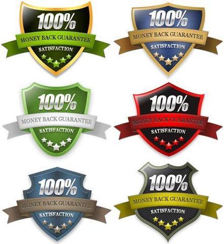 Guarantee Shield Badges