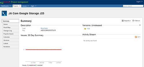JA Google Storage 1.0.0 for joomla 2.5-3.0