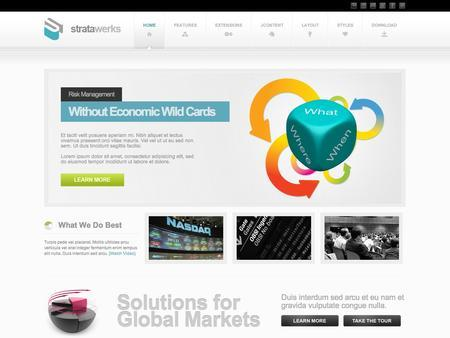 JoomlaXTC StrataWerks Premium template for – Joomla 2.5 & 3.0