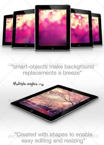 myPad: Web/App Showcase Tablet Pad Mockup