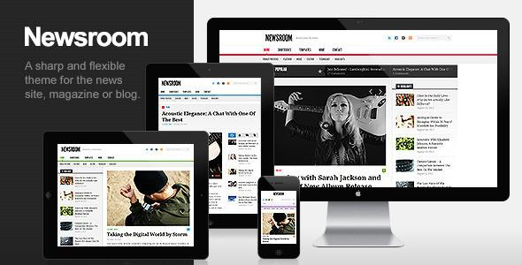 Newsroom – Responsive News & Magazine Theme v1.3 for WorldPress