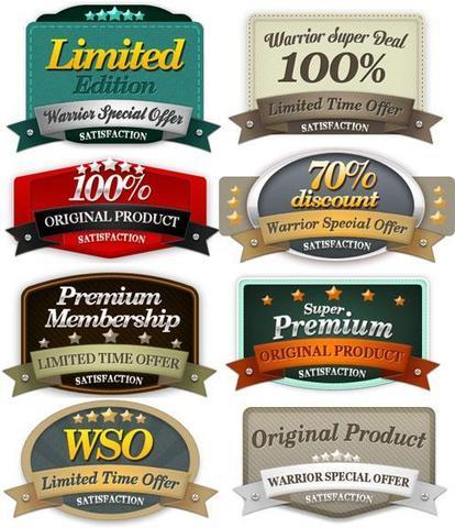 Old Web Badges