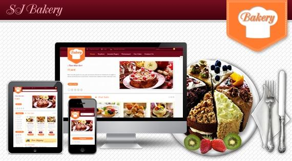 SJ Bakery – Responsive Joomla 2.5 Template