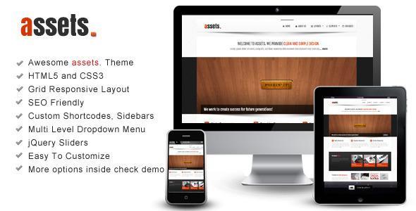 ThemeForest – assets – Responsive HTML Template
