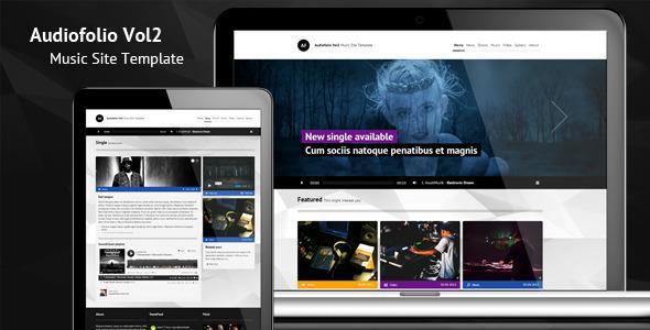 ThemeForest – Audiofolio Vol2 – Music Site Template