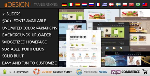 U-Design Corporate/Business WordPress Theme V1.9.1
