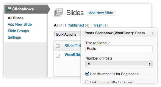 WooSlider v1.0.6 – The Ultimate Slideshow Plugin for WordPress