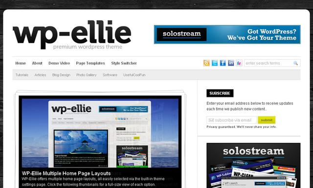 WP-Ellie Magazine WordPress Theme V2.0.4