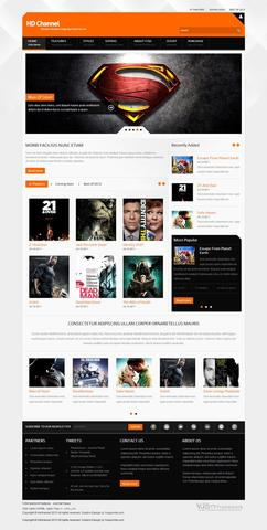 YouJoomla – HD Channel Movies Premium Template for Joomla 2.5