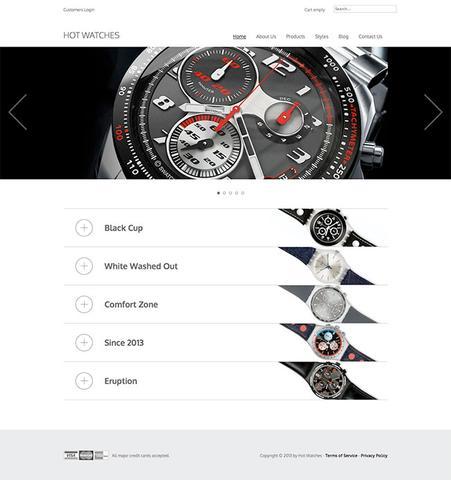 HotJoomlaTemplates – Hot Watches For Joomla 2.5